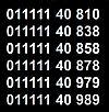 ���� �������: 011111.40.810 _ 011111.40.760 _ 011111.40.790