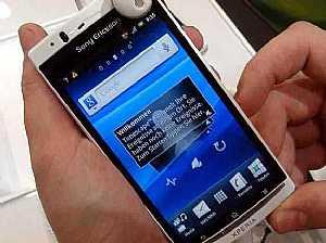 ������ ���� ������� ������� ��� �� Sony Ericsson Xperia Arc S