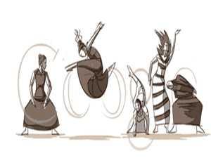شعار جوجل يحتفل بالذكري 117 لمارثا غراهام
