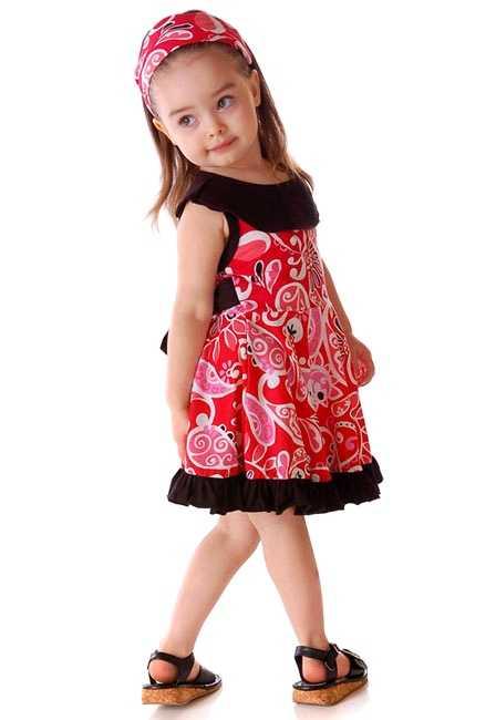 Платье для девочки сшить своими руками: летнее, без выкройки