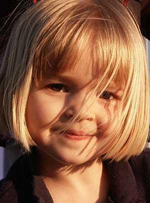 تسريحات اطفال للشعر القصير Children