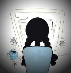 ابنتي الكريمة .... في غرفة المحادثة لصوص وذئاب؟؟